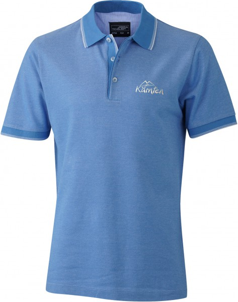 Polo Pique Shirt Bi-Color Herren